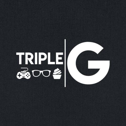 Triple G Full Logo - White Logo - Tote Bag