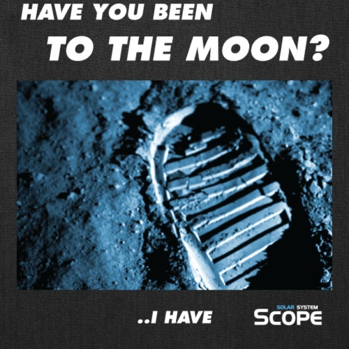 Solar System Scope : Have you been to the Moon - Tote Bag