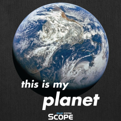 Solar System Scope : This is my Planet - Tote Bag