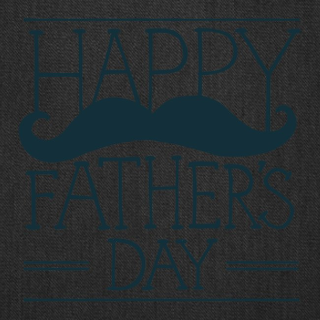 Fathers Day Mustache Design