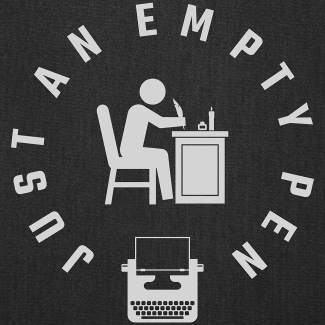 Just An Empty Pen (white logo)