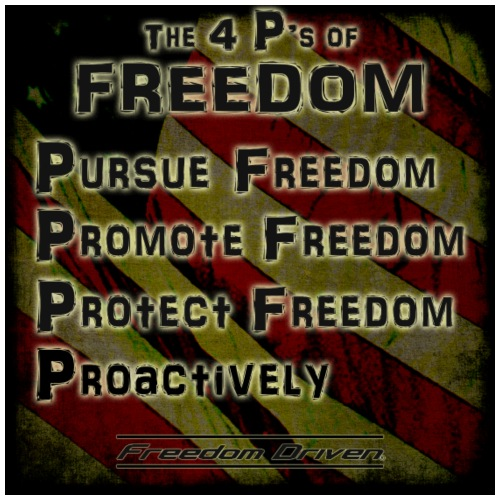 The 4 Ps of Freedom