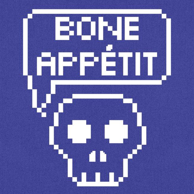 Bone Appetit (White Outline)