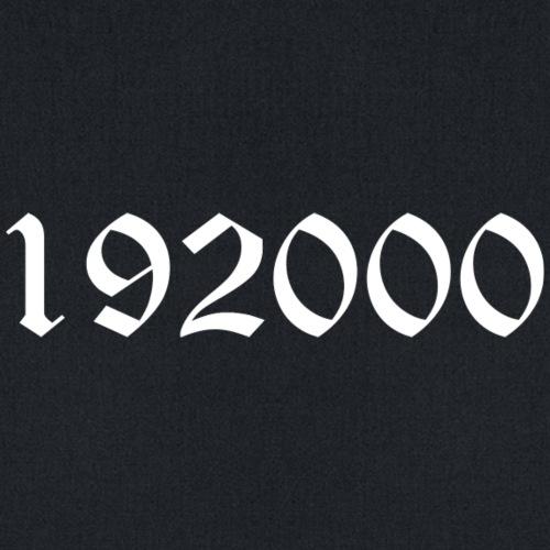 192000 logo - Tote Bag