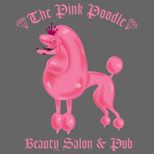 Pink Poodle Salon and Pub - Tote Bag