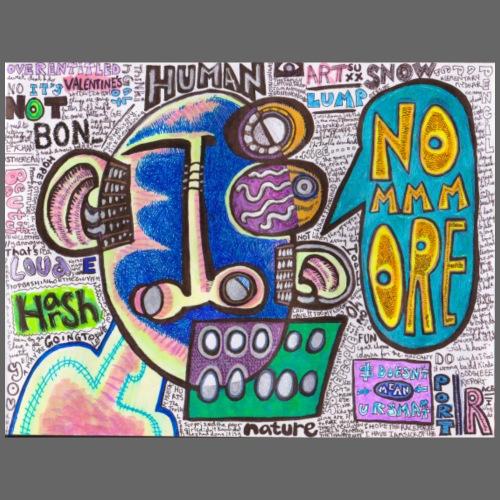 No More jpeg jpg - Tote Bag