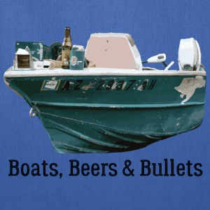 Boat and Bullets - Tote Bag