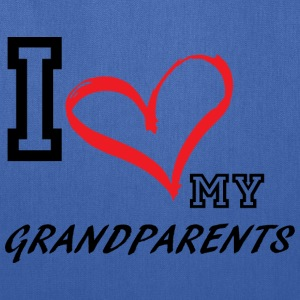 I_LOVE_MY_GRANDPARENTS - Tote Bag