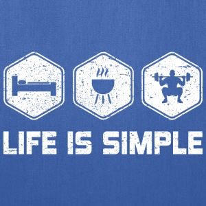 LIFE IS SIMPLE - SQUAD - Tote Bag