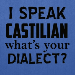castilian dialect - Tote Bag