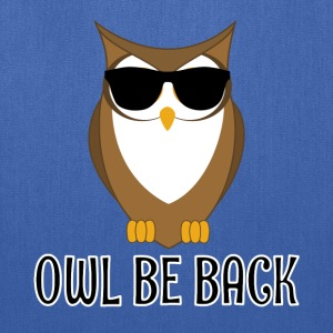 Owl Be Back - Tote Bag