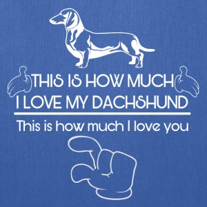 Cool Dachshund designs - Tote Bag