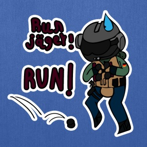 RUN Jäger! RUN! - Tote Bag