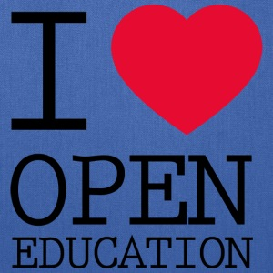 I Love Open Education - Tote Bag