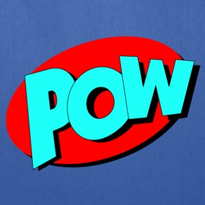 pow in Comic Style - Tote Bag