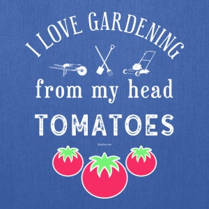 I Love Gardening T-Shirt for Gardener and Nature - Tote Bag