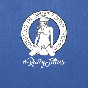 Rally Titties White - Tote Bag