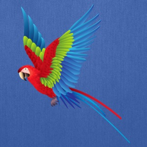 Parrot in Flight - Tote Bag