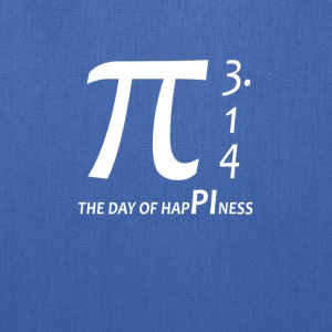 Pi day - The day of happiness 3 14 - Tote Bag