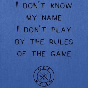 rules-of-the-game - Tote Bag