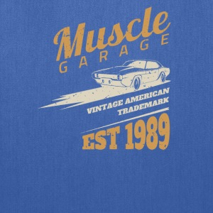 American muscle car Grage - Tote Bag