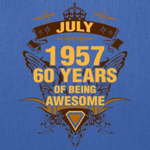 July 1957 60 Years of Being Awesome - Tote Bag