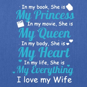 I LOVE MY WIFE TEE SHIRT - Tote Bag