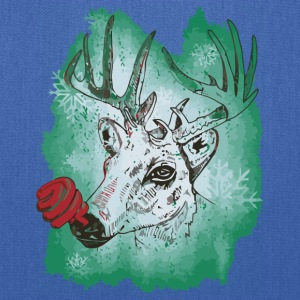 Green nosed Reindeer - Tote Bag