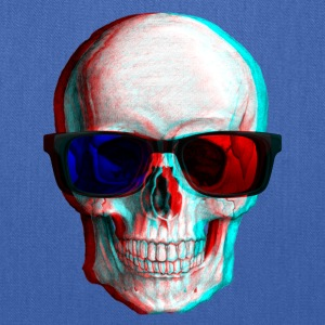 3D Glasses skull - Tote Bag