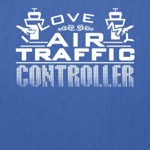 I Love My Air Traffic Controller Shirt - Tote Bag