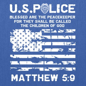US Police Shirt - Tote Bag