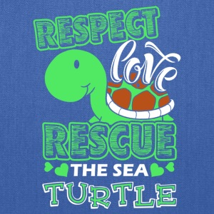 Sea Turtle Shirt - Tote Bag