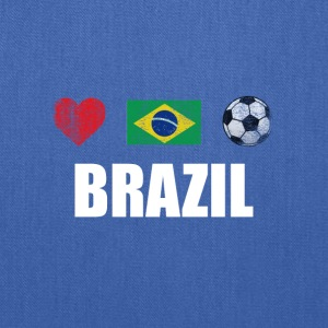 Brazil Football Brazilian Soccer T-shirt - Tote Bag