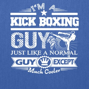 Cool Kick Boxing Guy Shirt - Tote Bag