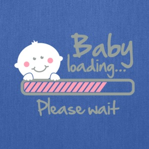 Baby Loading Please Wait T Shirt - Tote Bag