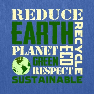 Earth Day Green Sustainable Tshirts - Tote Bag