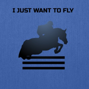 WANT TO FLY - Tote Bag