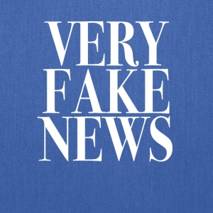 Very Fake News Trump Tee Shirt - Tote Bag