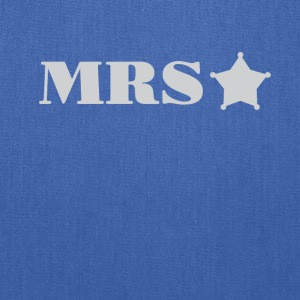 Mrs Police Officer Wife girlfriend Tee Shirt - Tote Bag