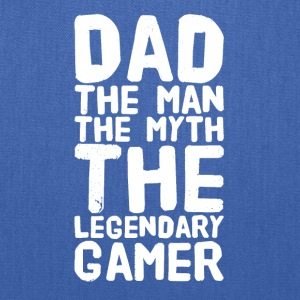 Dad The man the myth the legendary gamer - Tote Bag