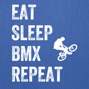 Eat sleep bmx repeat - Tote Bag