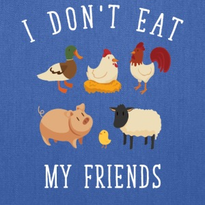 I don't eat my friends - Tote Bag