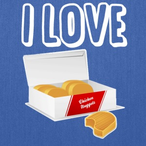 I love chicken nuggets - Tote Bag
