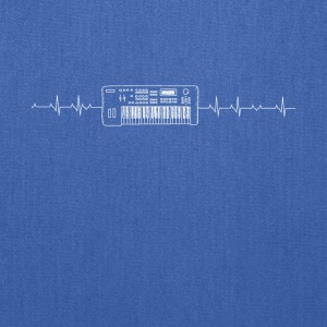 Piano Heartbeat - Tote Bag