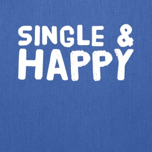 Single and happy - Tote Bag