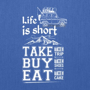 Life is Short - Tote Bag