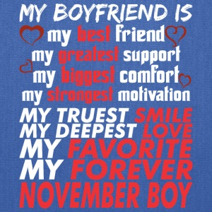 My Boyfriend Is November Boy - Tote Bag