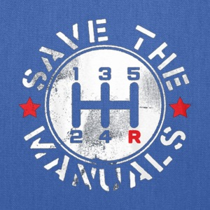 save manual transmission - Tote Bag