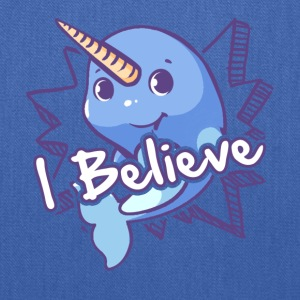 I Believe Narwhal Shirt - Tote Bag