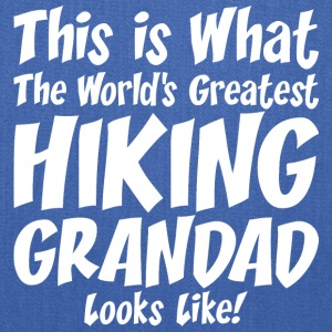 This Is What The Worlds Greatest Hiking Grandad - Tote Bag